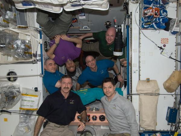 International Space Station - Expedition 30 Crew Members