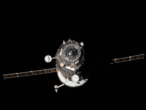 International Space Station - ISS Progress 46 Departs