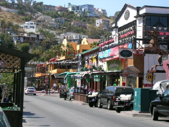 Street in Ensenada