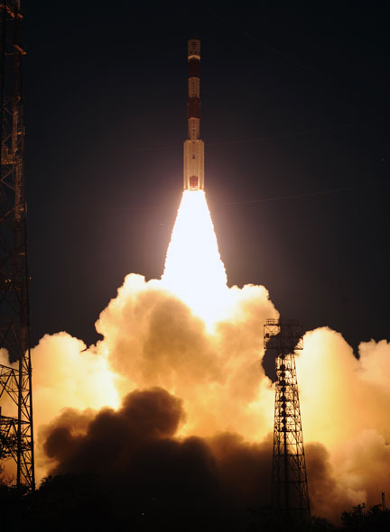 PSLV-C19 launches RISAT-1