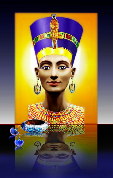 NEFERTITI   THE  BEAUTIFUL