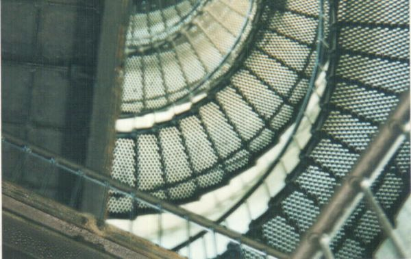 Lighthouse ghost spiral stairs