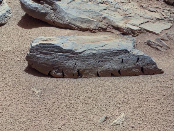 A Martian Rock Called 'Rocknest 3'