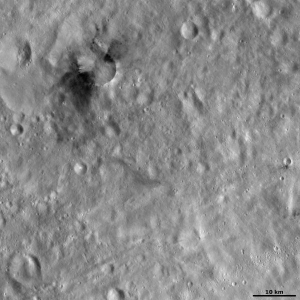 Occia crater