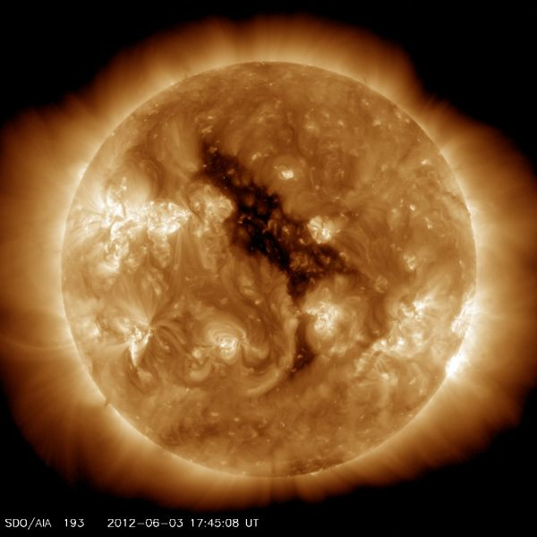 Solar Dynamic Observatory - Coronal Hole on the Sun