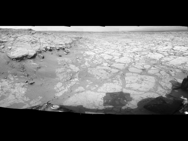 At Edge of 'Yellowknife Bay,' Sol 130