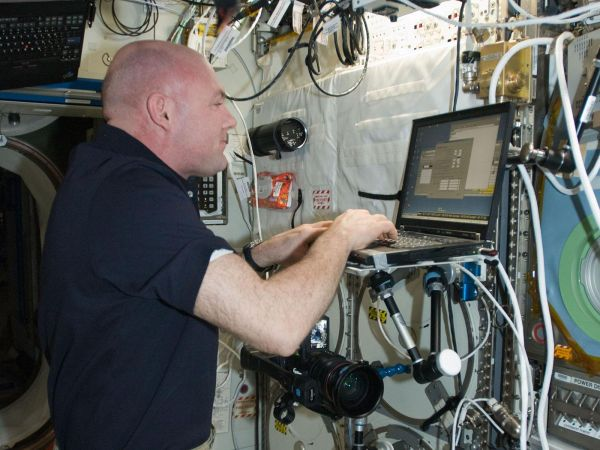 International Space Station - Astronaut Andre Kuipers
