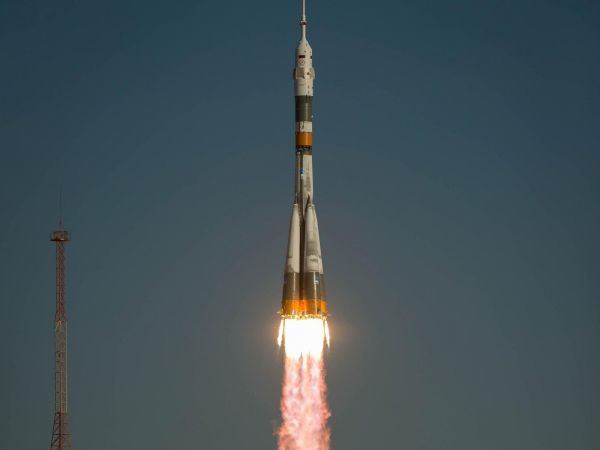 The Soyuz TMA-06M Spacecraft Launches