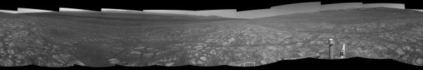 Opportunity: 'Matijevic Hill' on Rim of Mars' Endeavour Crater