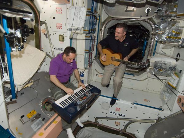 International Space Station - Making Music Together