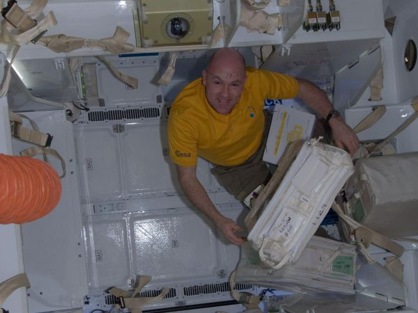 International Space Station - Expedition 31 Flight Engineer Andre Kuipers