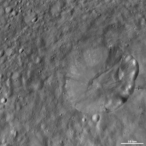 Octavia crater