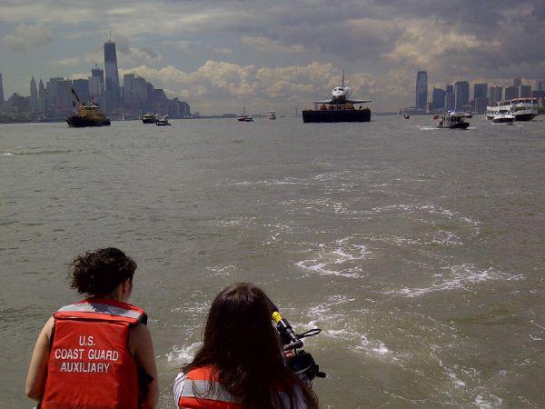 Enterprise on the move - Enterprise on the Hudson