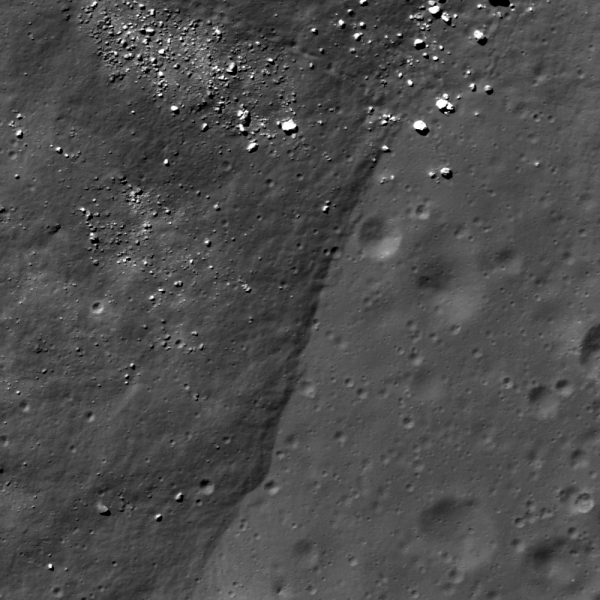 Lunar Reconnaissance Orbiter - Melt boundary