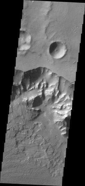 Mars Odyssey - Ganges Chasma