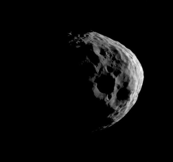 Cassini - Janus' Craters