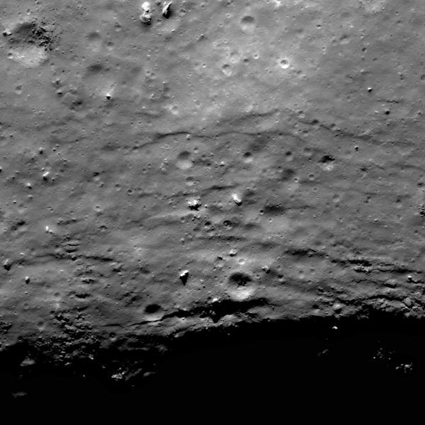 Lunar Reconnaissance Orbiter - On the Edge