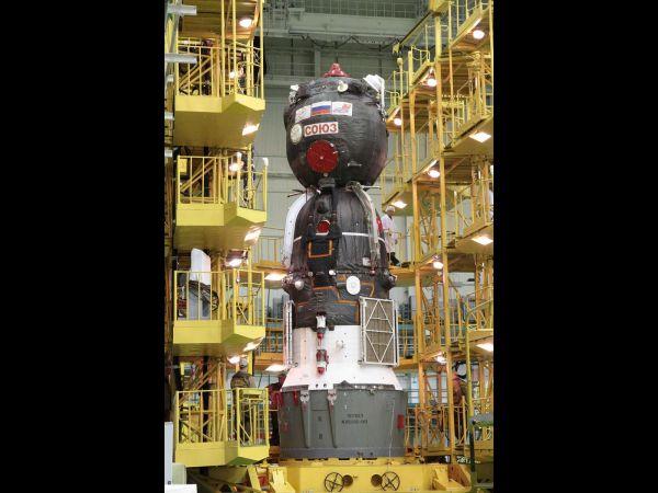 Soyuz TMA-04M Prepped for Launch