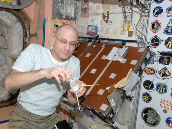 International Space Station - Astronaut Don Pettit