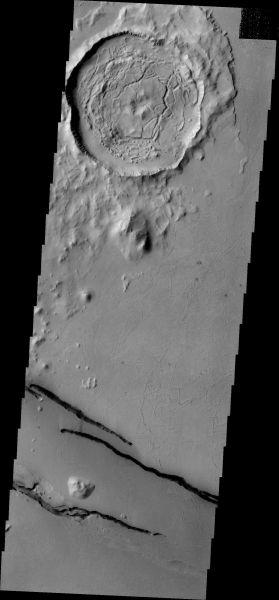 Mars Odyssey - Cerberus Fossae Fractures