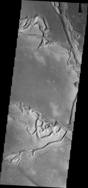 Mars Odyssey - Granicus Valles