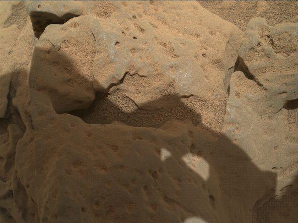 Rock 'Burwash' Near Curiosity, Sol 82