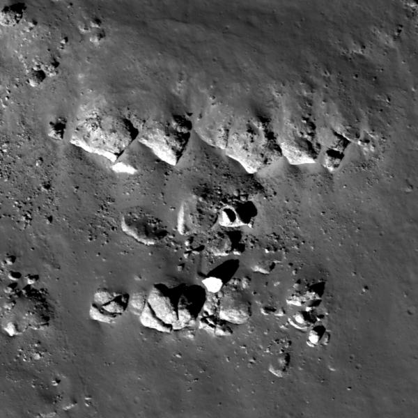 Lunar Reconnaissance Orbiter - Balcony Over Plato