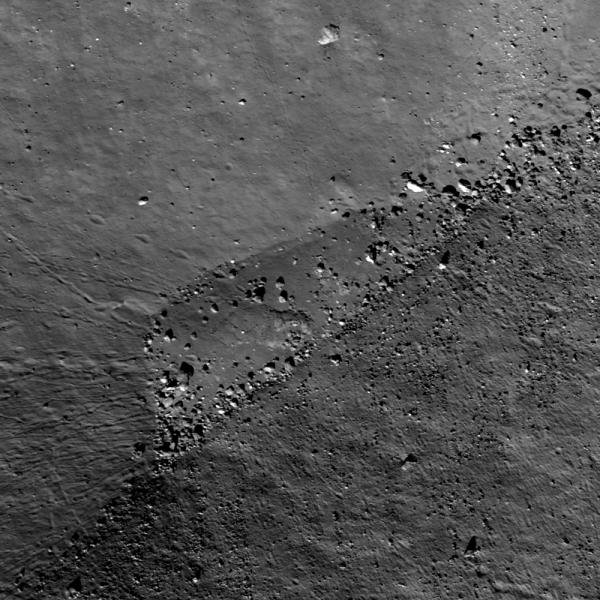 Lunar Reconnaissance Orbiter - Rim Impact