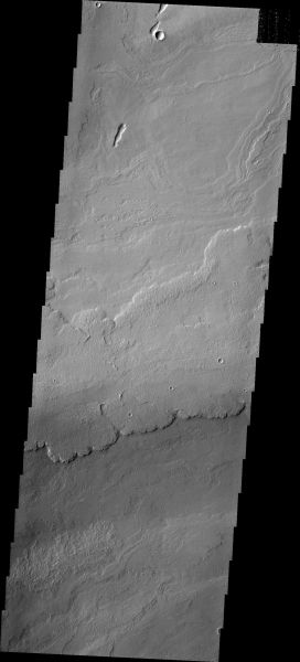 Mars Odyssey - Tharsis Flows