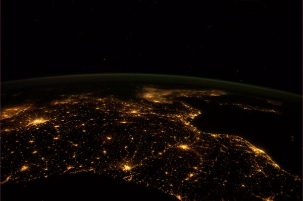 International Space Station - Photos by André Kuipers