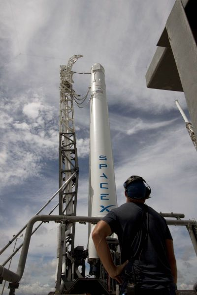 Commercial Resupply Launch: SpaceX CRS-1
