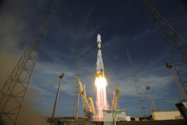 Soyuz VS03 liftoff