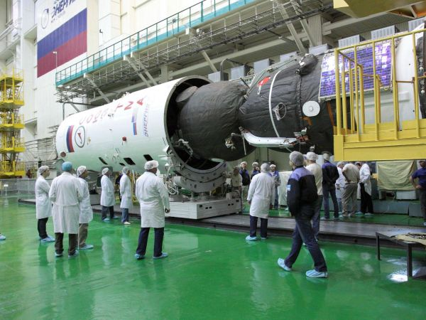 Soyuz Encapsulated in Booster Upper Stage