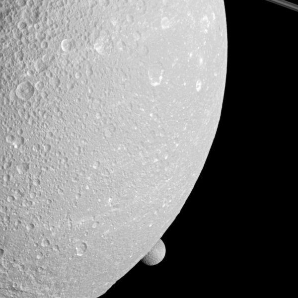 Peeping Mimas