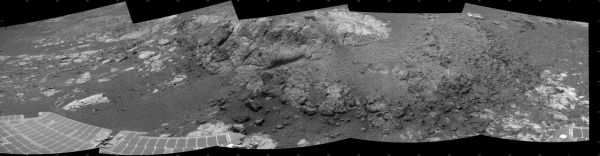 Opportunity at 'Copper Cliff,' Sol 3153