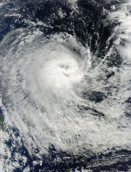 Tropical Cyclone Kuena (20S) in the Indian Ocean