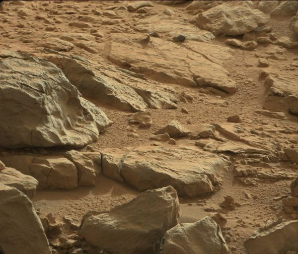 Mars Rock Takes Unusual Form