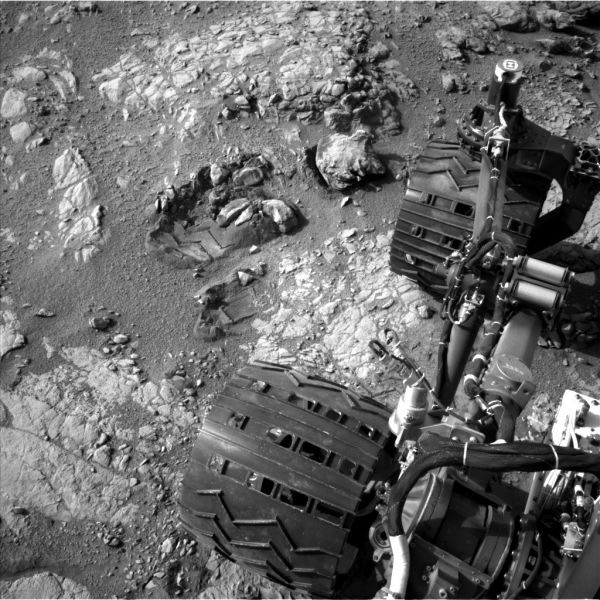 View From Camera Not Used During Curiosity's First Six Months on Mars
