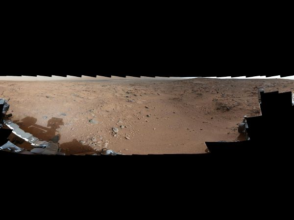 Panoramic View From Near 'Point Lake' in Gale Crater, Sol 106