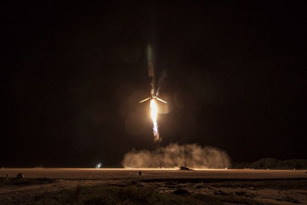 Falcon 9/ORBCOMM-2 First Stage Landing