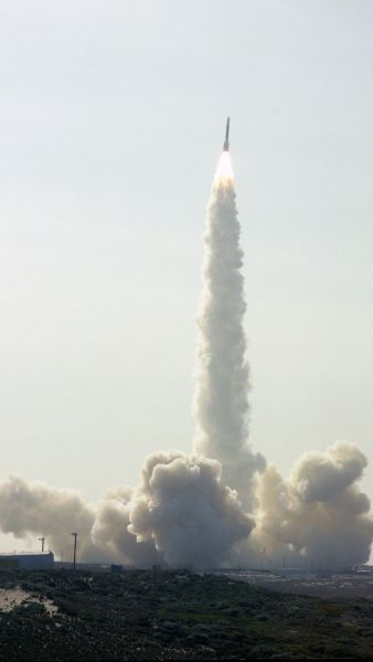 Launch of Landsat 5