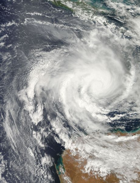 Tropical Cyclone Narelle (08S) off Australia