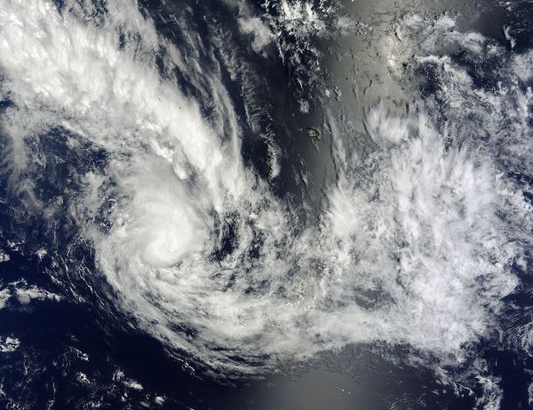 Tropical Cyclone Haley (14P) in the South Pacific Ocean