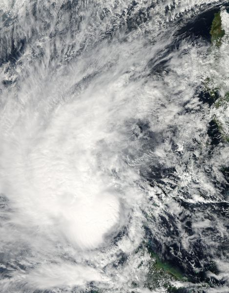 Tropical Storm Sonamu (01W) in the South China Sea
