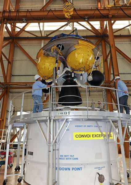 Ariane final stage for ATV-4