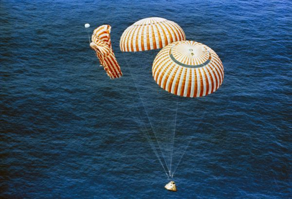Apollo 15 Splashdown