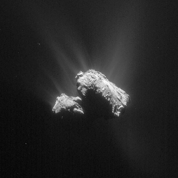 Comet On 12 April 2015 – NavCam