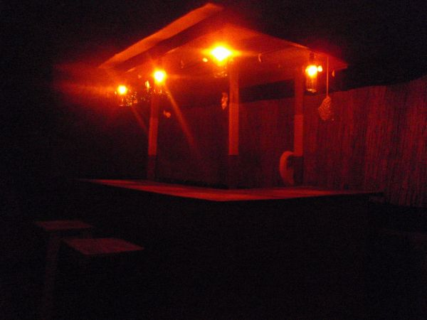 The bar in my backyard