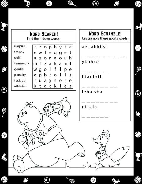 Kids Coloring Sheet