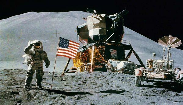 A typical Apollo image - AS15 88 11866